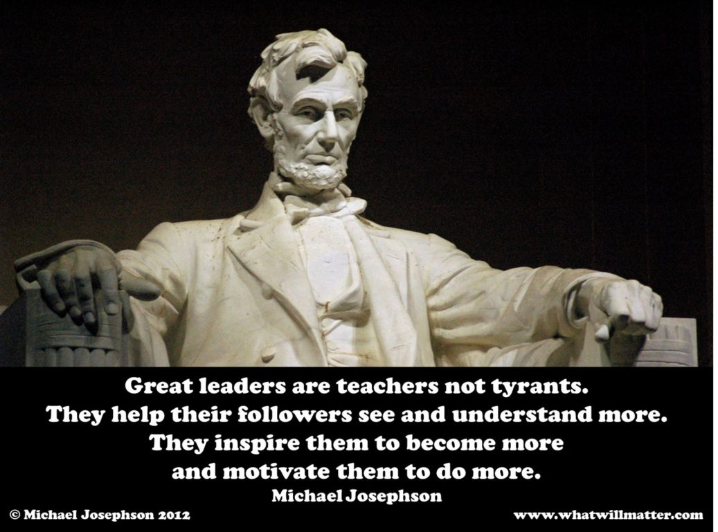 great leaders are teachers
